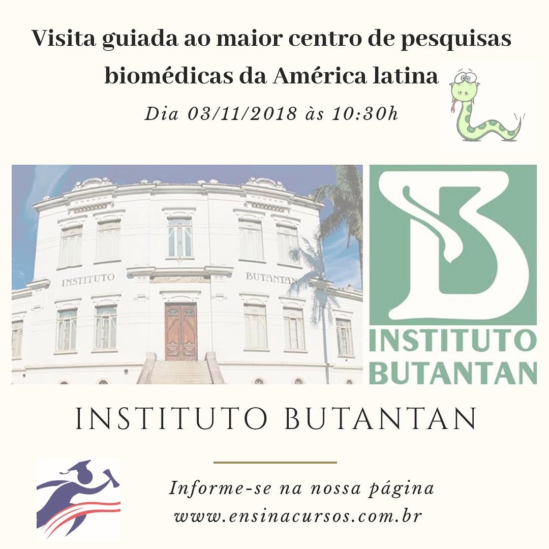 Visita Guiada ao Instituto Butantan